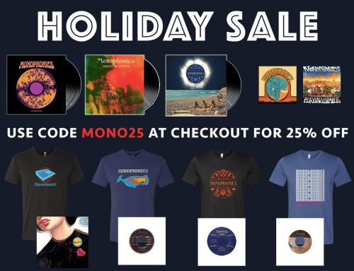 HOLIDAY SALE – 25% OFF THE ENTIRE STORE